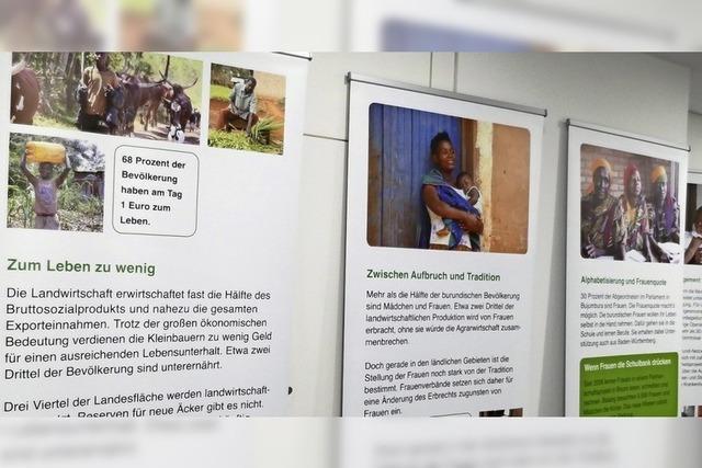 Burundi-Ausstellung in der Fair-Trade-Stadt