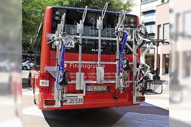 Das Fahrrad darf jetzt Bus fahren