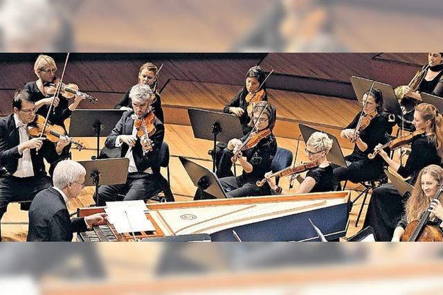 Das Corund Barockorchester Luzern konzertiert in St. Blasien und Müllheim
