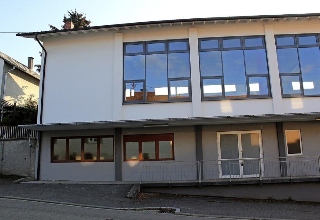 Im unteren Teil des Huttinger Hallenge... wurde nun deren Einrichtung vergeben.  | Foto: Langelott