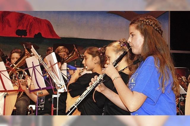 Von der Klarinette bis zur Posaune