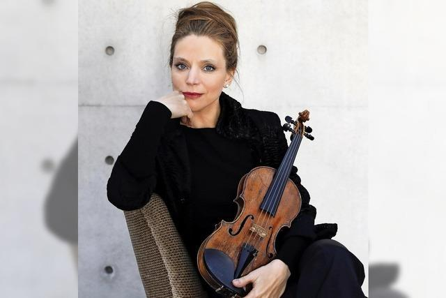 Französische Sonate mit Violinistin Franziska Pietsch und Pianist Josu de Solaun im Schloss Bonndorf.