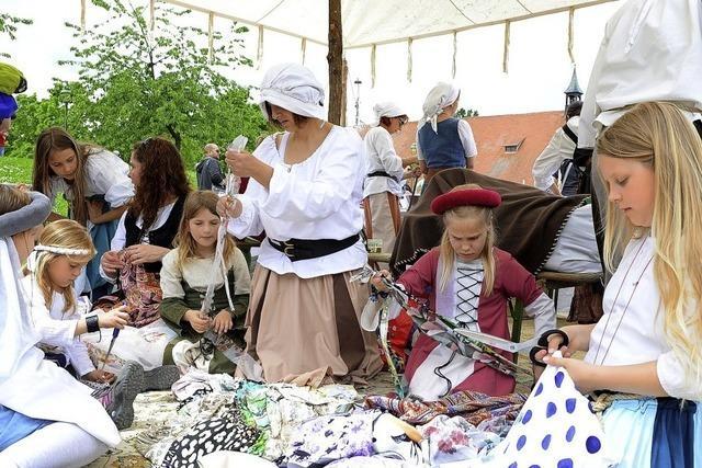 Der Mundenhof lädt zum mittelalterlichen Treiben