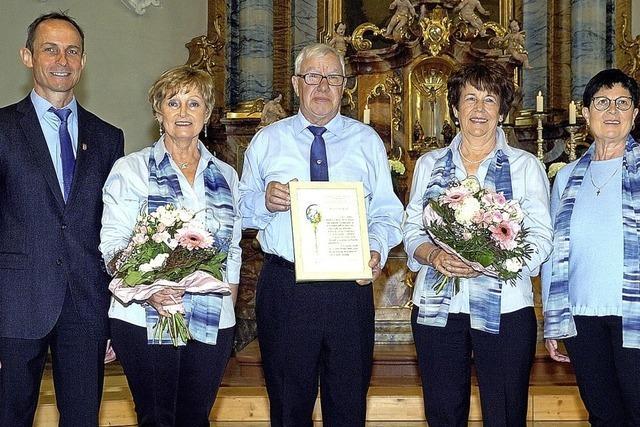 160 Jahre Treue zum Wyhler Kirchenchor