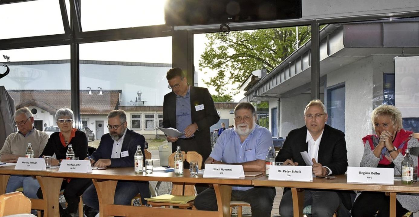 Wenig Diskussionsbedarf gab es bei der...rungsveranstaltung des Gewerbevereins   | Foto: Benedikt Sommer