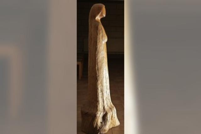 Eine Skulptur als Gast