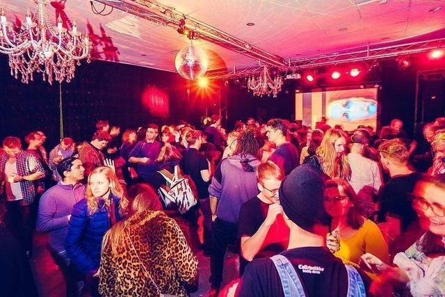 Junge Leute in Freiburg feiern gerne dort, wo sie sich sicher fühlen