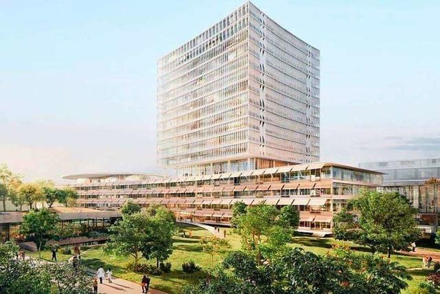 Basler Unispital plant zwölfstöckigen Neubau für 300 Millionen Franken