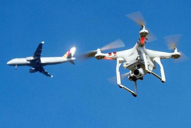 Wegen Drohne - Flugbetrieb in Frankfurt ruht für Dreiviertelstunde