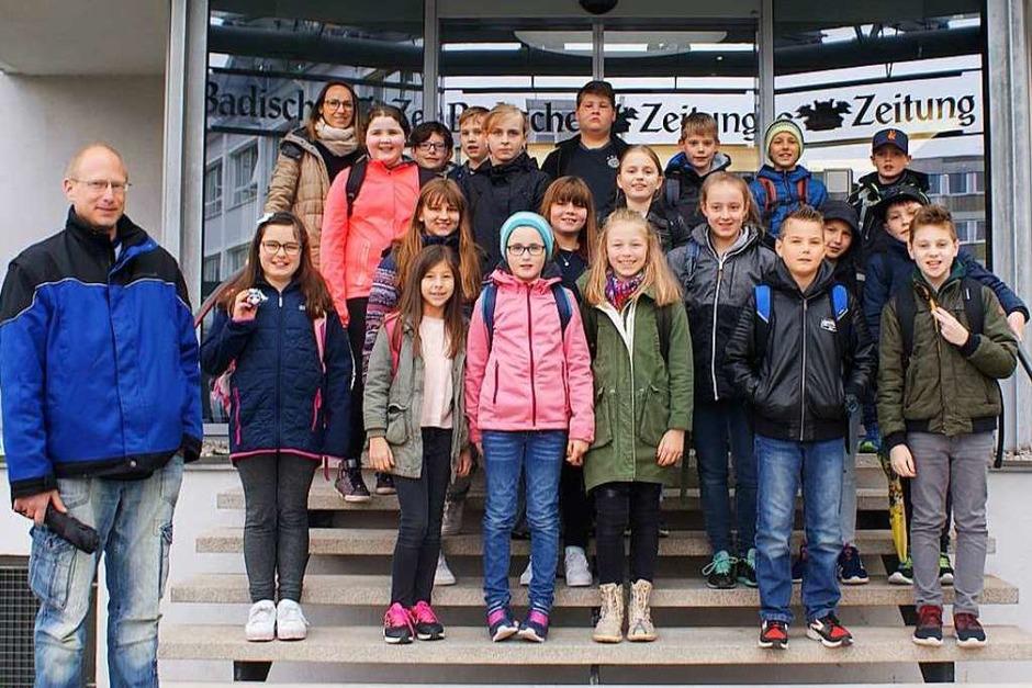 Klasse 4 der Grundschule Altdorf (Foto: Henry Umkehr)