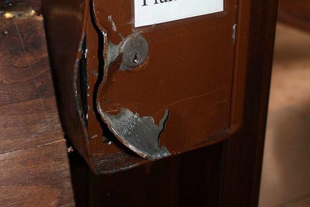 Wieder ein Opferstock aufgebrochen – diesmal in Schwörstadt