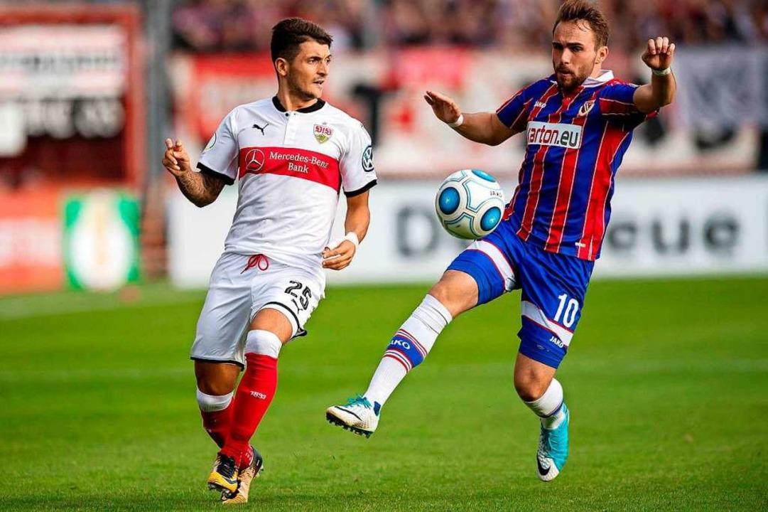 Interesse anderer Drittligisten: Fabio...n den VfB Stuttgart in Führung schoss.  | Foto: Thomas Eisenhuth