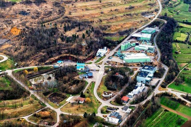Auf die Deponie Kahlenberg soll künftig mehr Erdaushub kommen