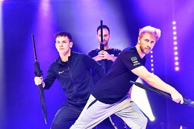 Tricking-Trio aus Köln macht mit beim Young Stage-Festival in Basel