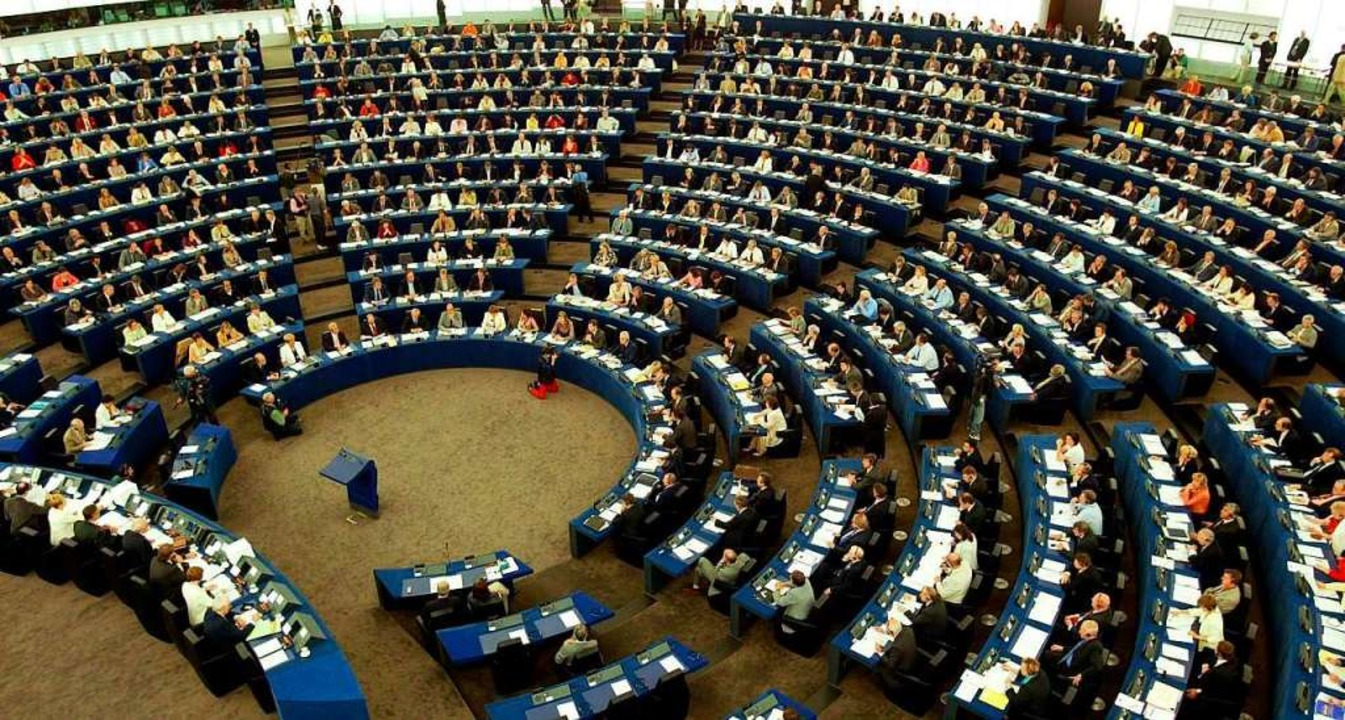 Das Europaparlament in Straßburg    Foto: dpa