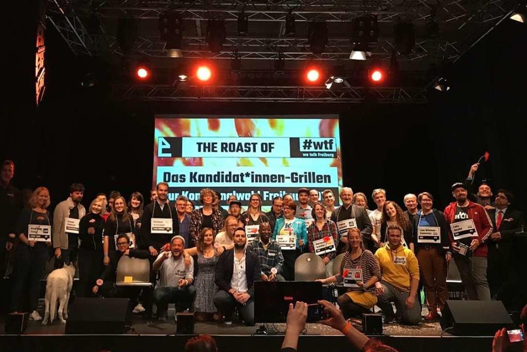 The Roast Of | Das Kandidat*innen-Grillen zur Kommunalwahl 2019im E-Werk.  | Foto: Bernhard Amelung