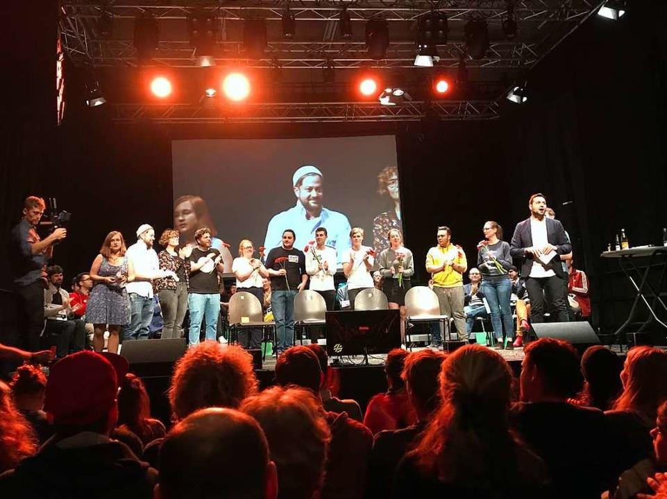 iDie Kandidatinnen und Kandidaten der ...ung, Nachtleben und Inklusion befragt.  | Foto: Valentin Heneka
