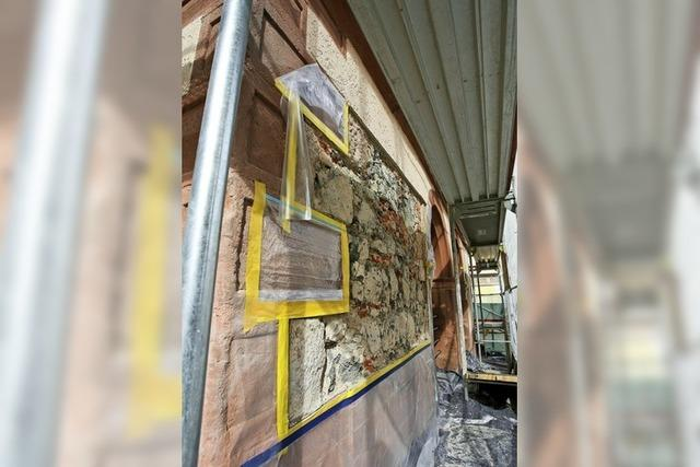 Große Schäden an Fassade