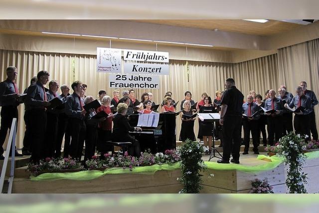 Sängerrunde Prechtal und MGV Bergecho St. Roman in Elzach-Prechtal