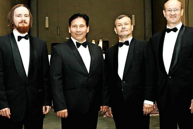 Vokalensemble Vivat aus St. Petersburg gibt Konzert in der Kirche St. Martin in Wehr