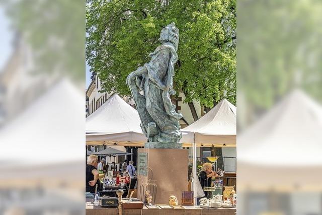 Statue für die Ahnengalerie