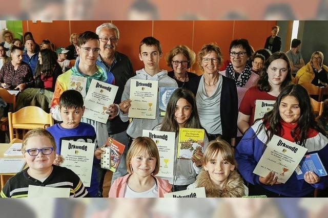Ortenauer Förderschüler lesen um die Wette