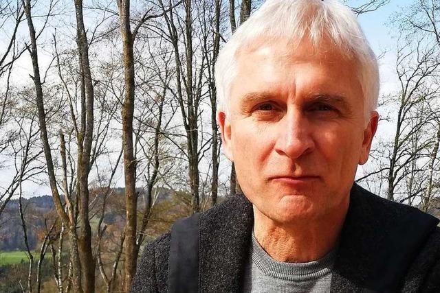 Gerhard Zickenheiner, der Bundestagsabgeordnete vom Zeller Blauen