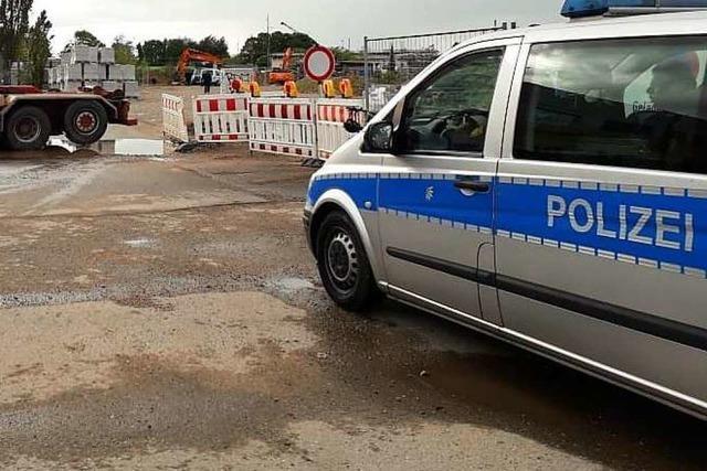 Blindgänger in Freiburg gesichert, aber nicht entschärft - Anwohner können zurück