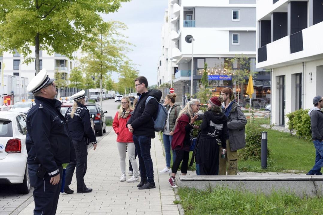 In Freiburg wird eine Fliegerbombe ent...nd 800 Menschen ihre Häuser verlassen.  | Foto: Thomas Kunz