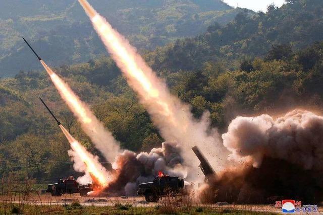 Trump unglücklich über neue Raketentests durch Nordkorea