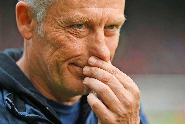 Warum Christian Streich die Partie in Hannover nicht genießen kann