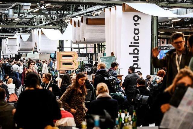 Teilnehmer der re:publica suchen Lösungen für die ganz großen Probleme