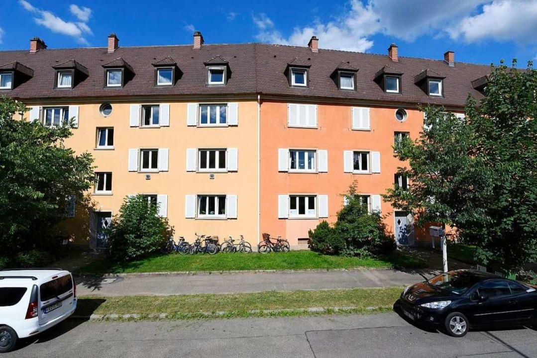 Häuser in der Quäkerstraße (Archivbild).  | Foto: Thomas Kunz