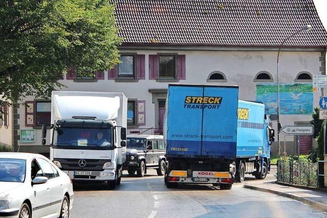 Kommt Tempo 30 auf der Ortsdurchfahrt Schwörstadt?