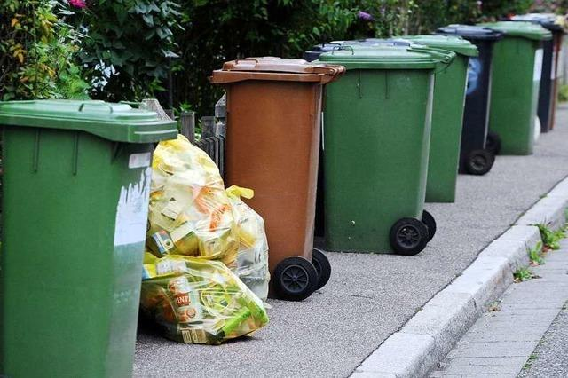 Wie stehen die Parteien zu steigenden Müllgebühren?
