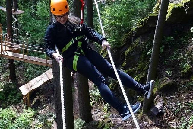 Der neue Kletterwald Hochempor in Bad Säckingen