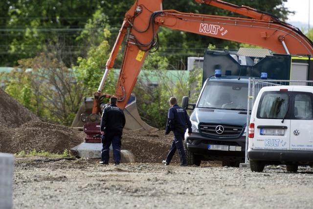 Die Fliegerbombe vom Güterbahnhof ist im Mooswald gesprengt worden