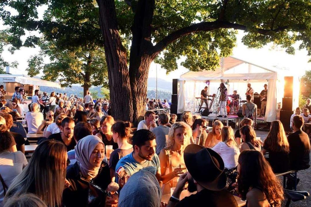 Das Schlossbergfest 2018 – in diesem Sommer wird es kein Fest geben.  | Foto: Thomas Kunz