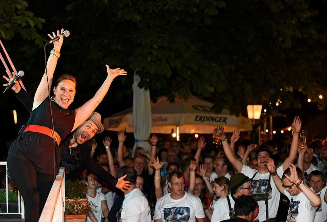 Livemusik, DJs und Partystimmung &#821...ucher am Schlossbergfest (Archivbild).  | Foto: Rita Eggstein