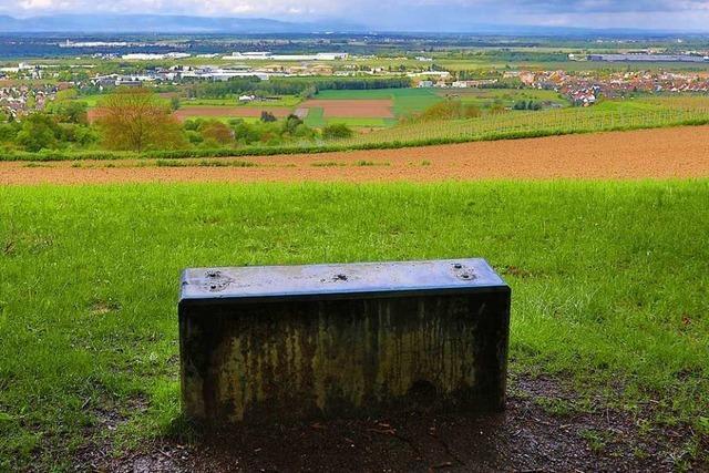 Die Panoramatafel auf dem Schutterlindenberg ist geklaut worden
