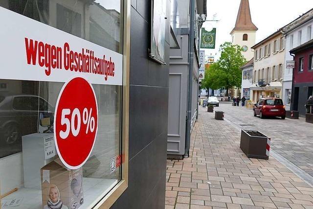 In der Bad Krozinger Innenstadt schließen gleich drei Läden