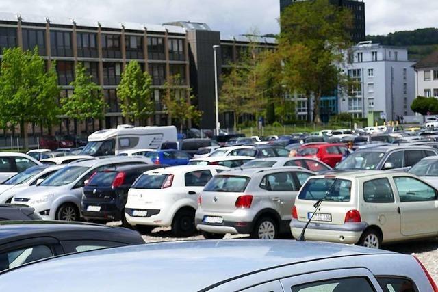 Baubeginn am Conrad-Areal naht: Parkplätze in Lörracher Innenstadt fallen bald weg