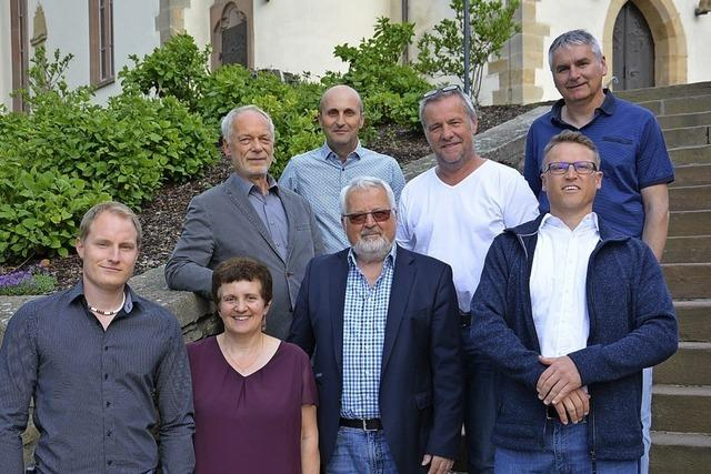 Hochmotiviertes Kandidatenteam