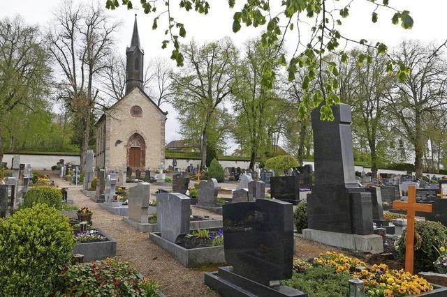Der Friedhof verändert sich