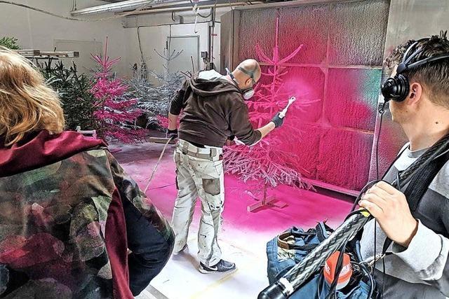 Pink gedreht