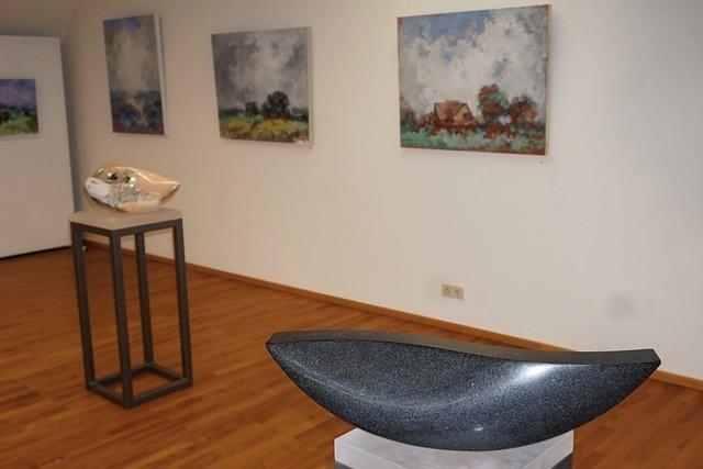 Anspruchsvolle Kunst in der Galerie