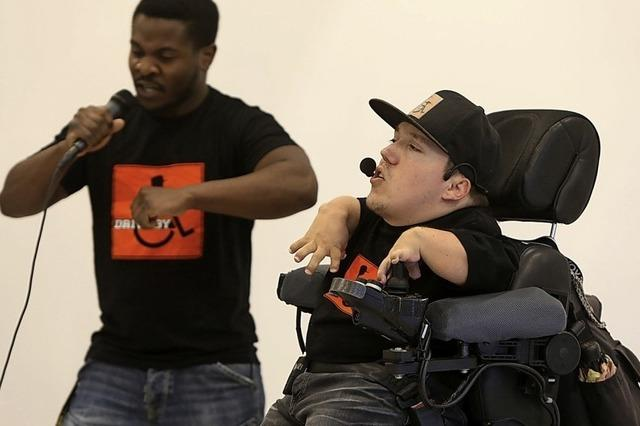 Rap im Rollstuhl