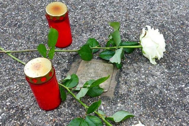 Denzlinger Arbeitskreis NS-Zeit erinnert an Opfer des Nationalsozialismus