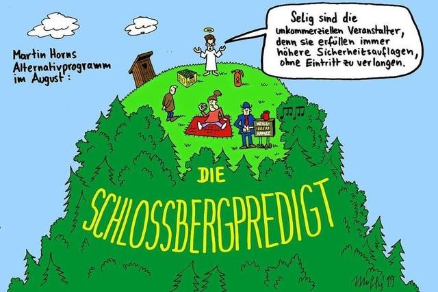 Wie Martin Horns Alternative zum Schlossbergfest aussieht