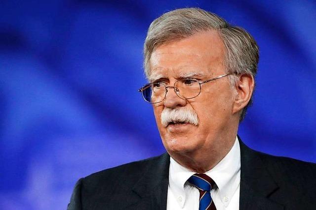 Donald Trumps Scharfmacher heißt John Bolton